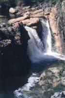 waterfall at top of Mitchell's Pass, Ceres
