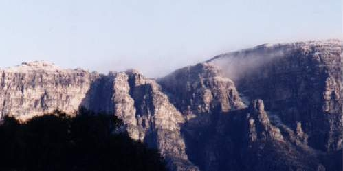snow on Table Mountain (18 July 1995)!!