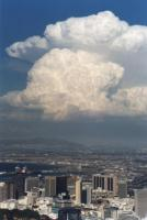 cumulonimbus over Cape Town