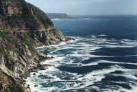 Chapman's Peak with sea patterns