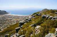 Trappieskop and Fish Hoek Bay from Elsies Peak