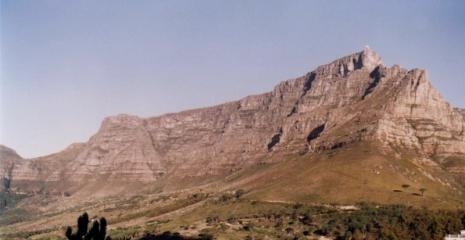Table Mountain from Kloof Nek